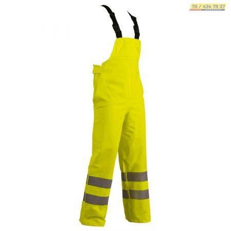 Hi-Vis vastag, erős, jól-láthatósági, kantáros esőnadrág, lélegző (100% PVC,PU, 395g)