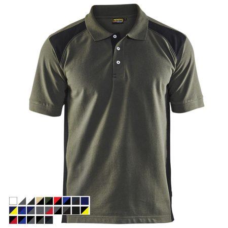 Galléros póló két színű 3324-1050-4699