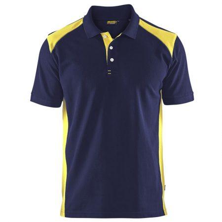 Galléros póló két színű 3324-1050-8933