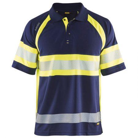 Láthatósági galléros póló UV védelemmel 3338-1051-8933