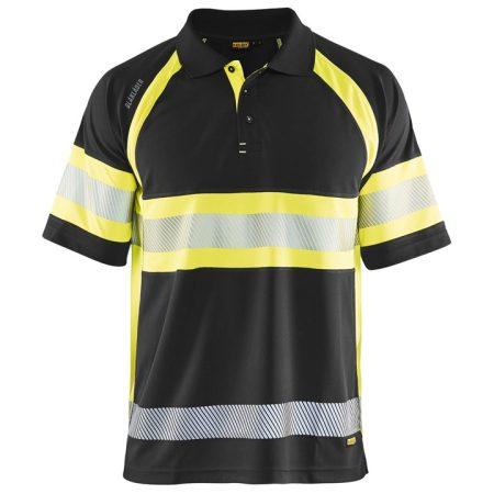 Láthatósági galléros póló UV védelemmel 3338-1051-9933