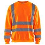 Hi-Vis Jól-láthatósági pulóver (100% Poly, 240g)