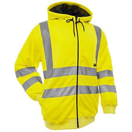 Hi-Vis Jól-láthatósági kapucnis pulóver 3346