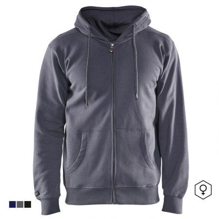 Kapucnis, cipzáros pulóver 3366-1048-9400
