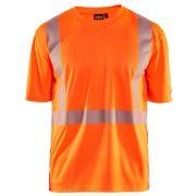 """High Vis """"V"""" nyakú UV védős póló 3386-1013-5300"""