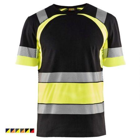 Láthatósági póló (pamut) 3421-1030-9933