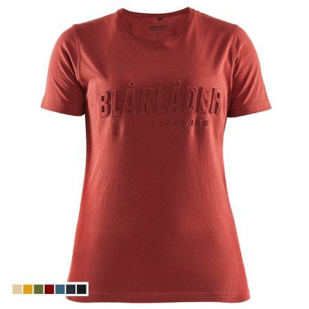 3D környakas női póló 3431-1042-5909