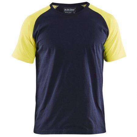 Két tónusú környakas póló 3515-1030-8833