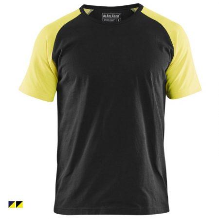Két tónusú környakas póló 3515-1030-9933