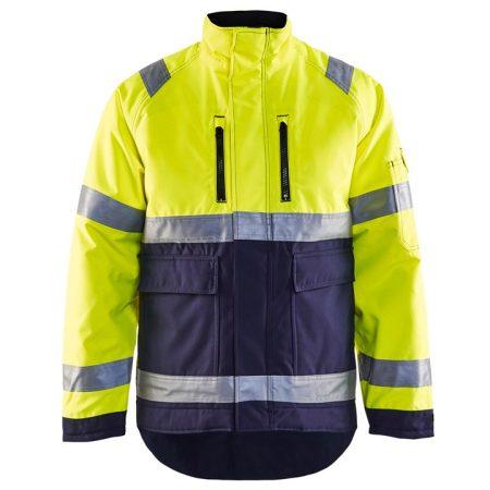 Hi-Vis téli kabát  (3 rétegű PÉ 200g) 4827