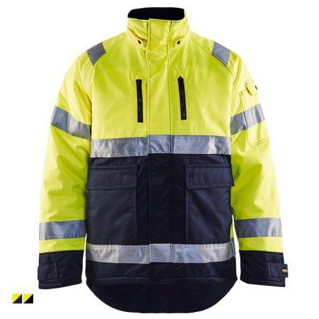 High-Vis téli kabát (kevertszálas, víztaszító 230g) 4828