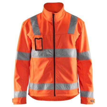 Láthatósági Softshell kabát 3 rétegű 4838-2517-5300