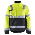 Hi-Vis téli kabát (kevertszálas, víztaszító 240g+bélés) 4862