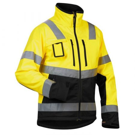 High-Vis Softshell kabát vízálló 4900-2517-3399