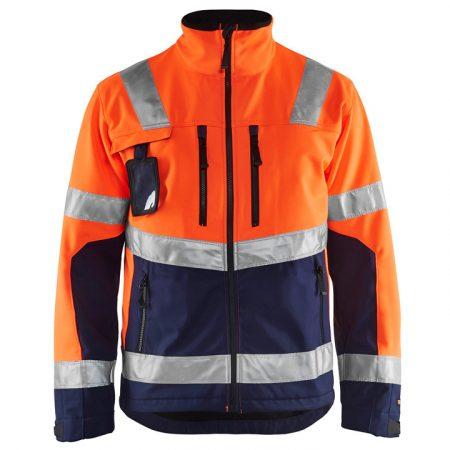 High-Vis Softshell kabát vízálló 4900-2517-5389