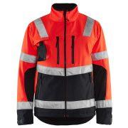 High-Vis Softshell kabát vízálló 4900