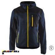 Kötött kapucnis pulóver (kevert szálas 380g)